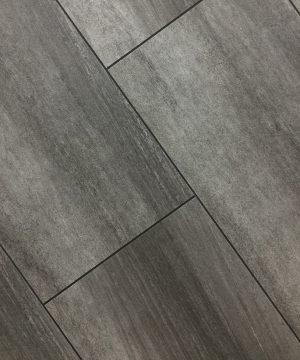 TILE LOOK VINYL FLOORING 8MM (Grey Slate)