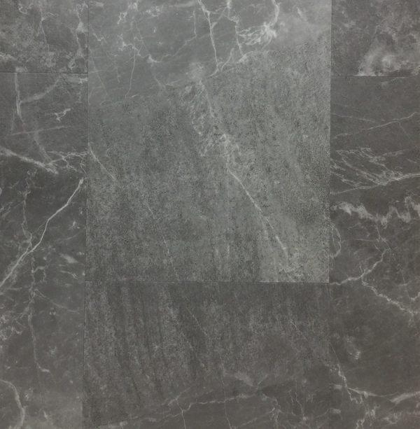 TILE LOOK VINYL FLOORING 4.5MM (Pietra Grey Marble)